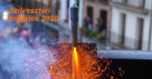 Szilveszteri tüzijáték 2020